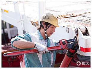 荷台やセルフローダーなどの油圧シリンダー