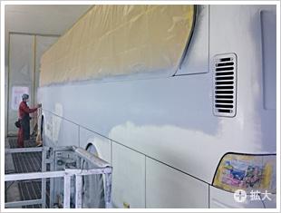 塗装の工程