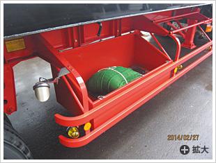 道具箱・リン木入れ/飛散防止シート